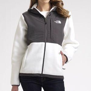 The North Face Black & White Denali Fleece Jacket